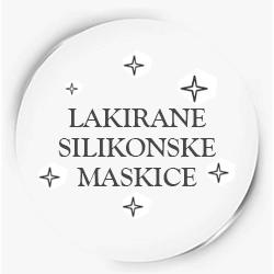 Lakirane Silikonske Maskice