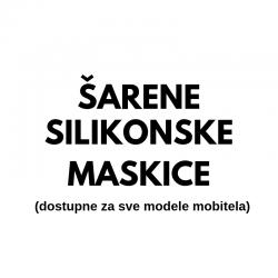 Šarene silikonske maskice