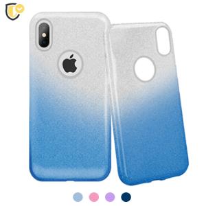 3u1 Dvobojna Maskica sa Šljokicama za iPhone XS Max - Više boja