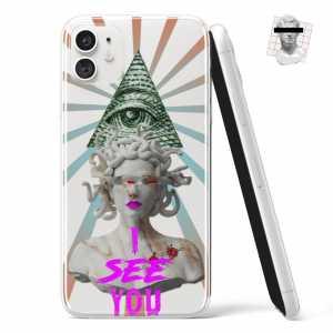 Silikonska Maskica - Illuminati Meduza - NOR06