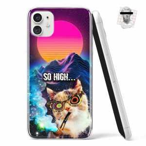 "Silikonska Maskica - Mačka (""So high..."") - NOR16"