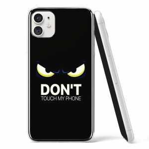"Silikonska Maskica - ""Don't touch my phone"" 2 - S42"
