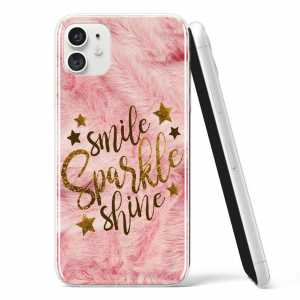 "Silikonska Maskica - ""Smile, sparkle, shine"" - S43"