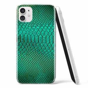 Silikonska Maskica - Uzorak zelene zmijske kože - TX15