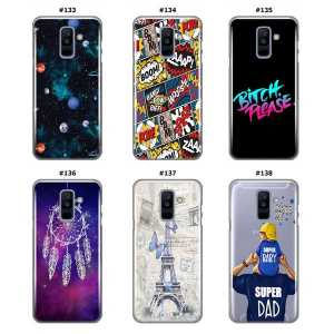 Silikonska Maskica za Galaxy A6 Plus (2018) - Šareni motivi