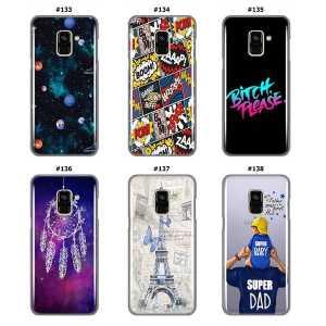 Silikonska Maskica za Galaxy A8 / A5 (2018) - Šareni motivi