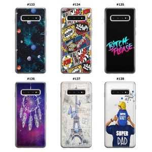 Silikonska Maskica za Galaxy S10 Plus - Šareni motivi