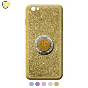Glitter Maskica sa Prstenom u Više Boja za iPhone XR