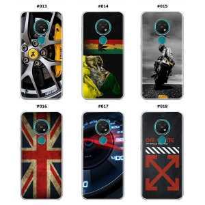 Silikonska Maskica za Nokia 7.2  - Šareni motivi