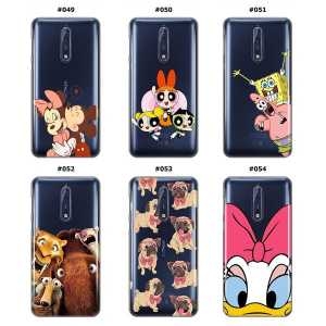 Silikonska Maskica za Nokia 8 - Šareni motivi