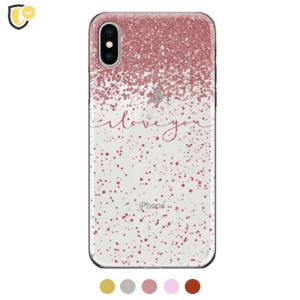 Glitter Love Silikonska Maskica u Više Boja za iPhone 7/8