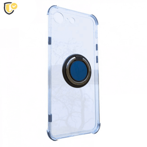 Prozirna Silikonska Maskica sa Prstenom za Galaxy A50 / A50s / A30s
