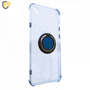 Prozirna Silikonska Maskica sa Prstenom za Honor 20 Lite