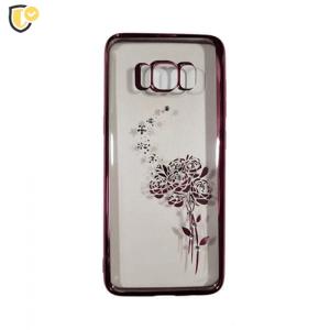 Beeyo Roses Silikonska maskica za Galaxy S8 - Rose Gold