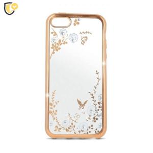 Beeyo Secret Garden Silikonska maskica za iPhone 7/8 - Gold