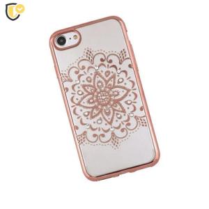 Beeyo Mandala Silikonska maskica za iPhone 7/8 - Rose Gold
