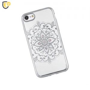 Beeyo Mandala Silikonska maskica za Galaxy S5 - Silver