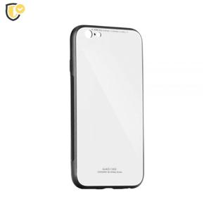 Bijela stakleno-silikonska maskica za Galaxy J4 Plus