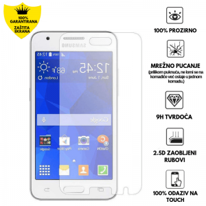 Kaljeno Staklo / Staklena Folija za Samsung Galaxy Core 2