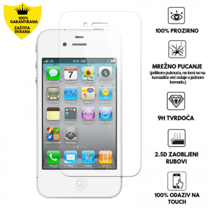 Kaljeno Staklo / Staklena Folija za Apple iPhone 4/4s