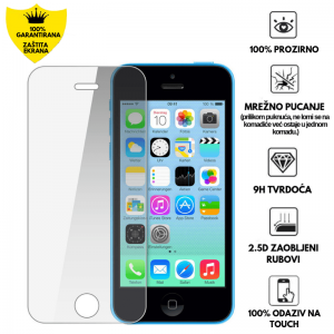 Kaljeno Staklo / Staklena Folija za Apple iPhone 5c