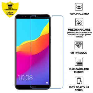 Kaljeno Staklo / Staklena Folija za Huawei Y7 (2018) /  Y7 Prime (2018)