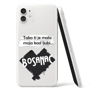 TPU Silikonska Maskica - ''Kad ljubi bosanac'' - CS16