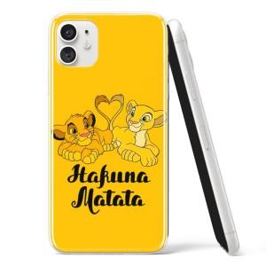 Silikonska Maskica - ''Hakuna Matata Yellow'' - CF34