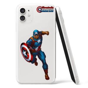 Silikonska Maskica - Captain America - CF54