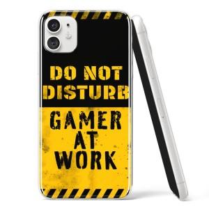 """Silikonska Maskica - """"Do not disturb, gamer at work"""" - G17"""