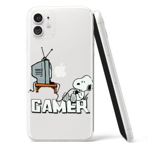 Silikonska Maskica - Gamer Snoopy - G40
