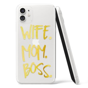 "Silikonska Maskica - ""Wife, mom, boss"" - OM20"