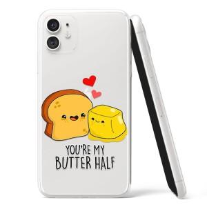"Silikonska Maskica - ""You're my butter half"" - OM29"