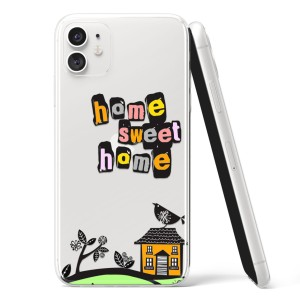 "Silikonska Maskica - ""Home sweet home"" - OM34"