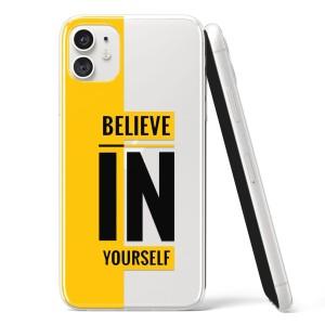 "Silikonska Maskica -  ""Believe in yourself"" - HM01"