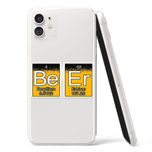 "Silikonska Maskica - ""Be Er"" kemijski elementi - HM09"