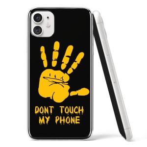 "Silikonska Maskica - ""Don't touch my phone"" - HM31"