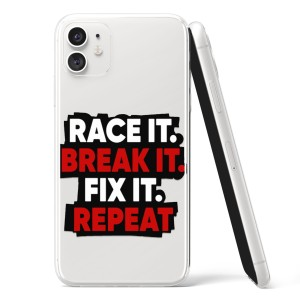 "Silikonska Maskica - ""Race it, break it, fix it, repeat"" - HM50"