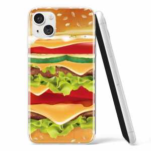 Silikonska Maskica - Burger 2 - FD06