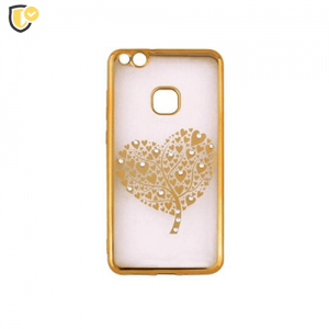Beeyo Hearts Tree Silikonska maskica za Galaxy S8 Plus - Gold