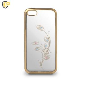 Beeyo Flower Silikonska Maskica za P10 Lite - Gold