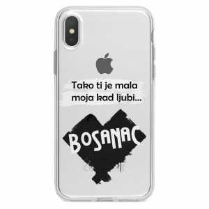 TPU Silikonska Maskica - ''Kad ljubi bosanac'' - CS23