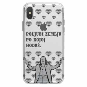TPU Silikonska Maskica - ''Poljubi zemlju'' - CS36