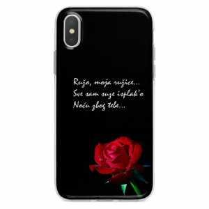 TPU Silikonska Maskica - ''Ružo, moja ružice'' - CS37