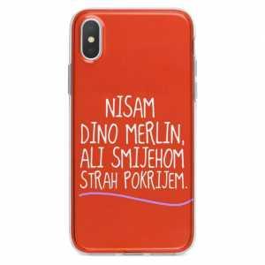 TPU Silikonska Maskica - ''Nisam Dino Merlin'' - CS39