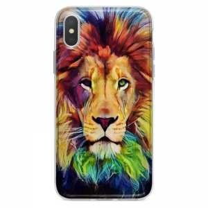 TPU Šarena Silikonska Maskica - ''Color Lion'' - 020