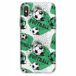 TPU Šarena Silikonska Maskica - ''Green Football'' - 031