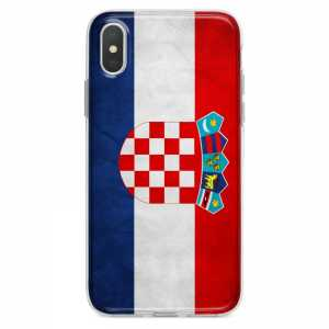 TPU Šarena Silikonska Maskica - ''Croatian Flag'' - 034