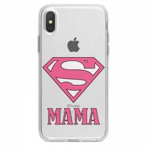 TPU Šarena Silikonska Maskica - ''Super Mama'' - 040