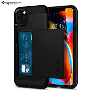 Spigen Slim Armor CS Maskica iPhone 11 - Black